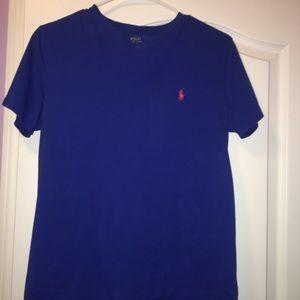 Royal blue Ralph Lauren v neck